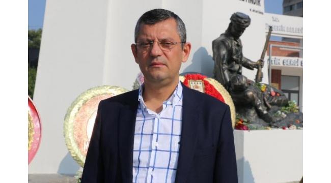 CHP'li Özel: Valiler, AK Parti'nin il başkanlarını kıskandırıyor