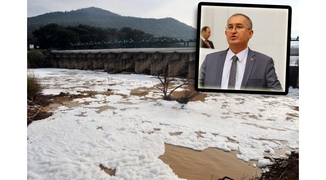 CHP'li Sertel : Gediz Nehri'nin temizlenmesine yönelik çalışmaları sordu