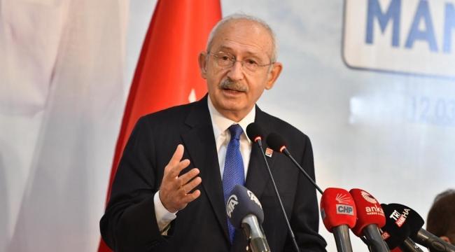 CHP Genel Başkanı Kılıçdaroğlu, Manisa'da Muhtarlarla Buluştu