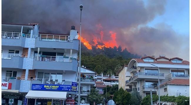 Marmaris'te orman yangını – Muhabirimiz Hasan Deniz Çizmeci bildiriyor
