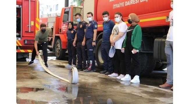 'Gönüllü İtfaiyecilik' projesinde eğitimler tamamlandı