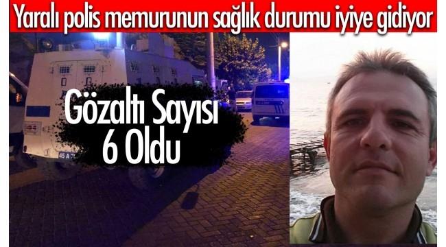 Yaralı polis memurundan sevindiren haber!